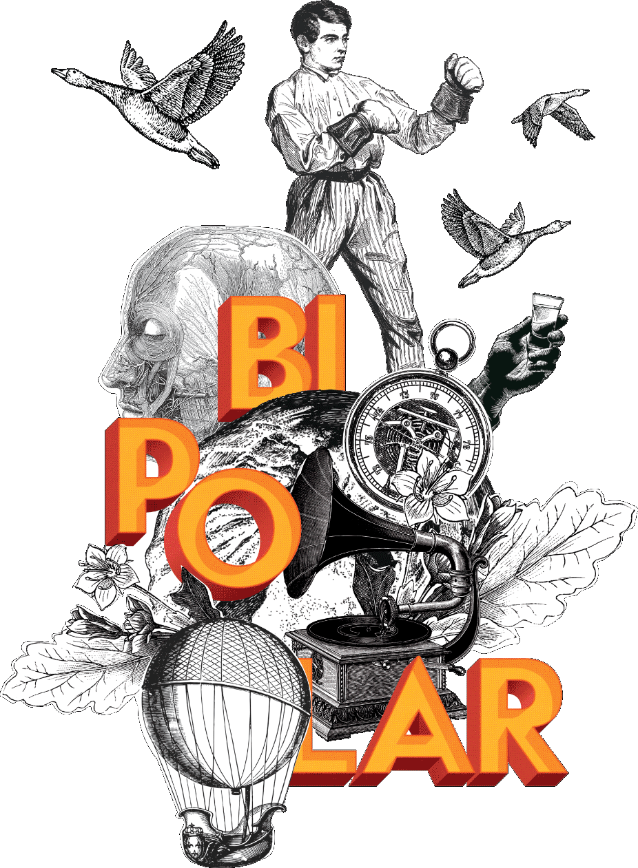 Bipolar. Branding. Ilustración